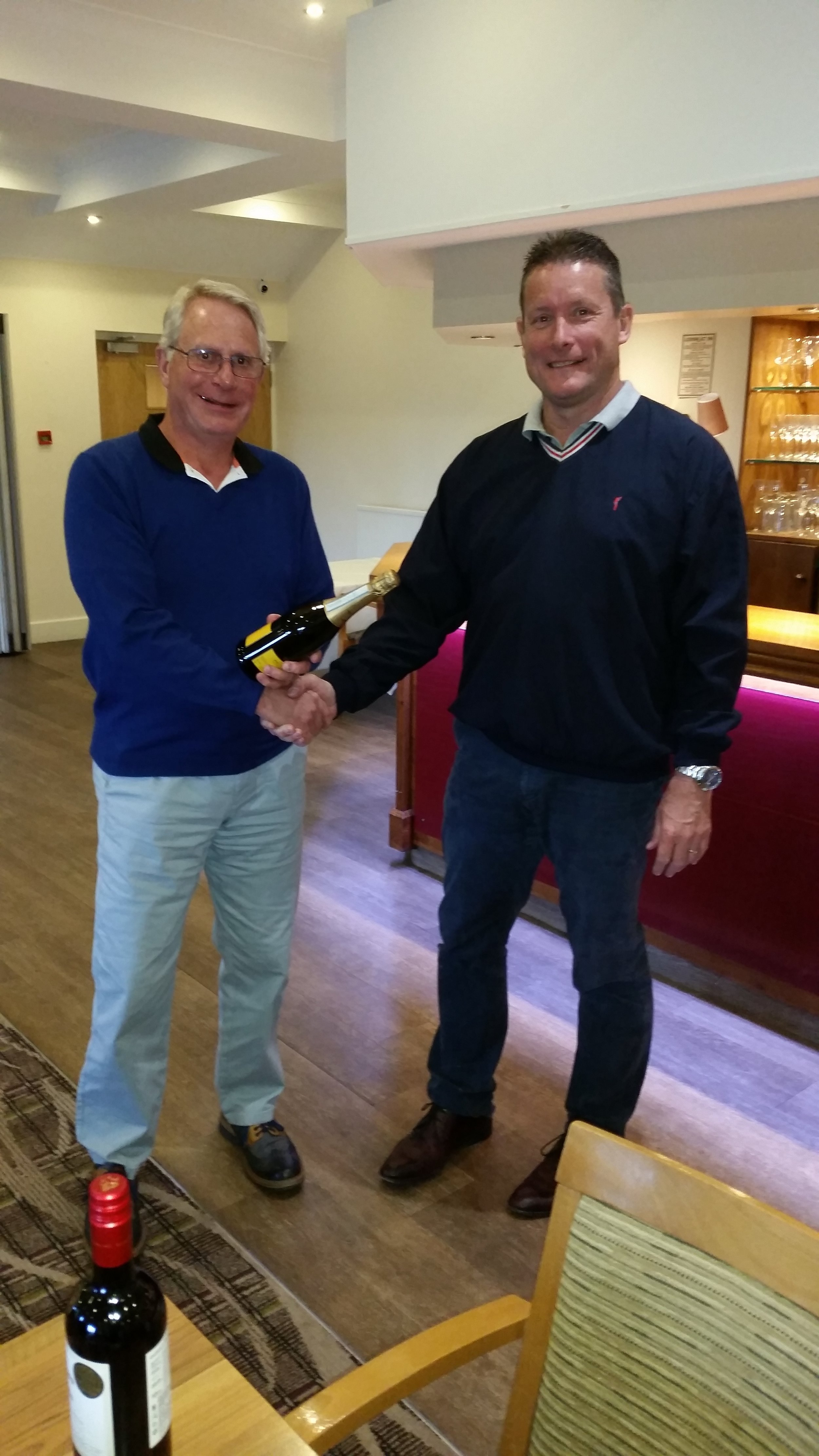 Overall winner of the day on countback – Graham Warley