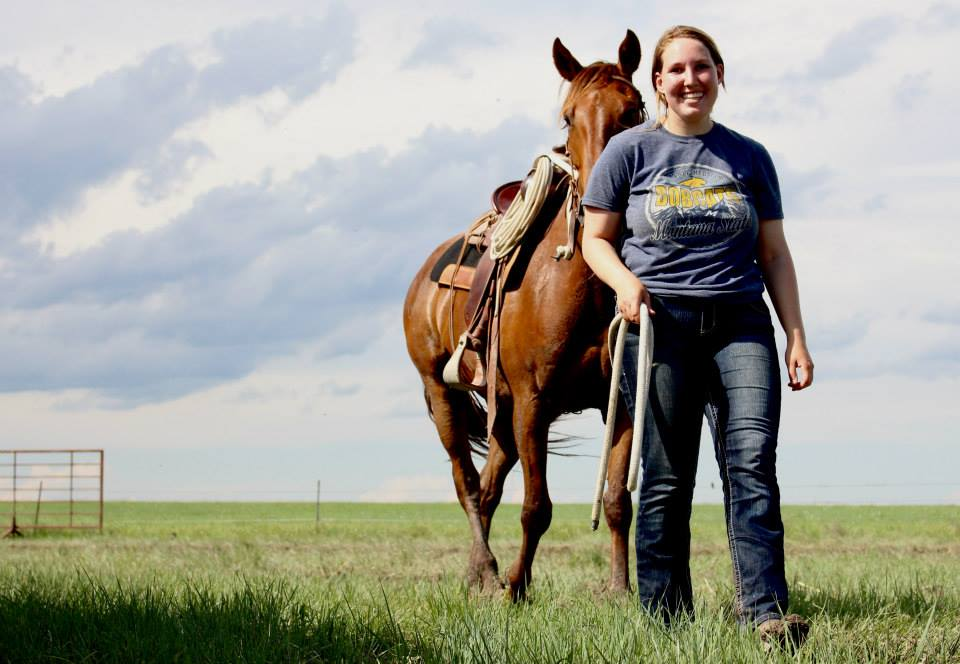 Emma Shaffer, a California native and student at Montana State University, interned at The DX Ranch the summer of 2015.
