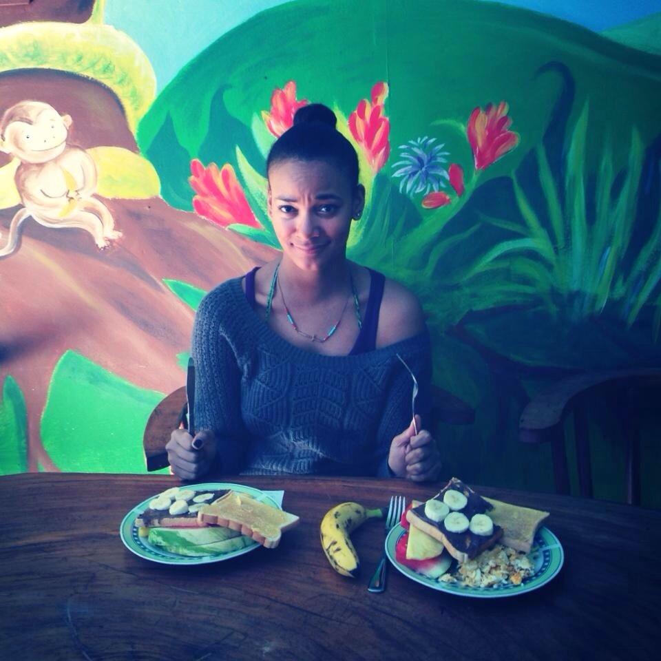 My first Monteverde breakfast.