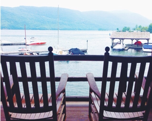 Rocking Chairs at the Dock Photo: Olivia Christine