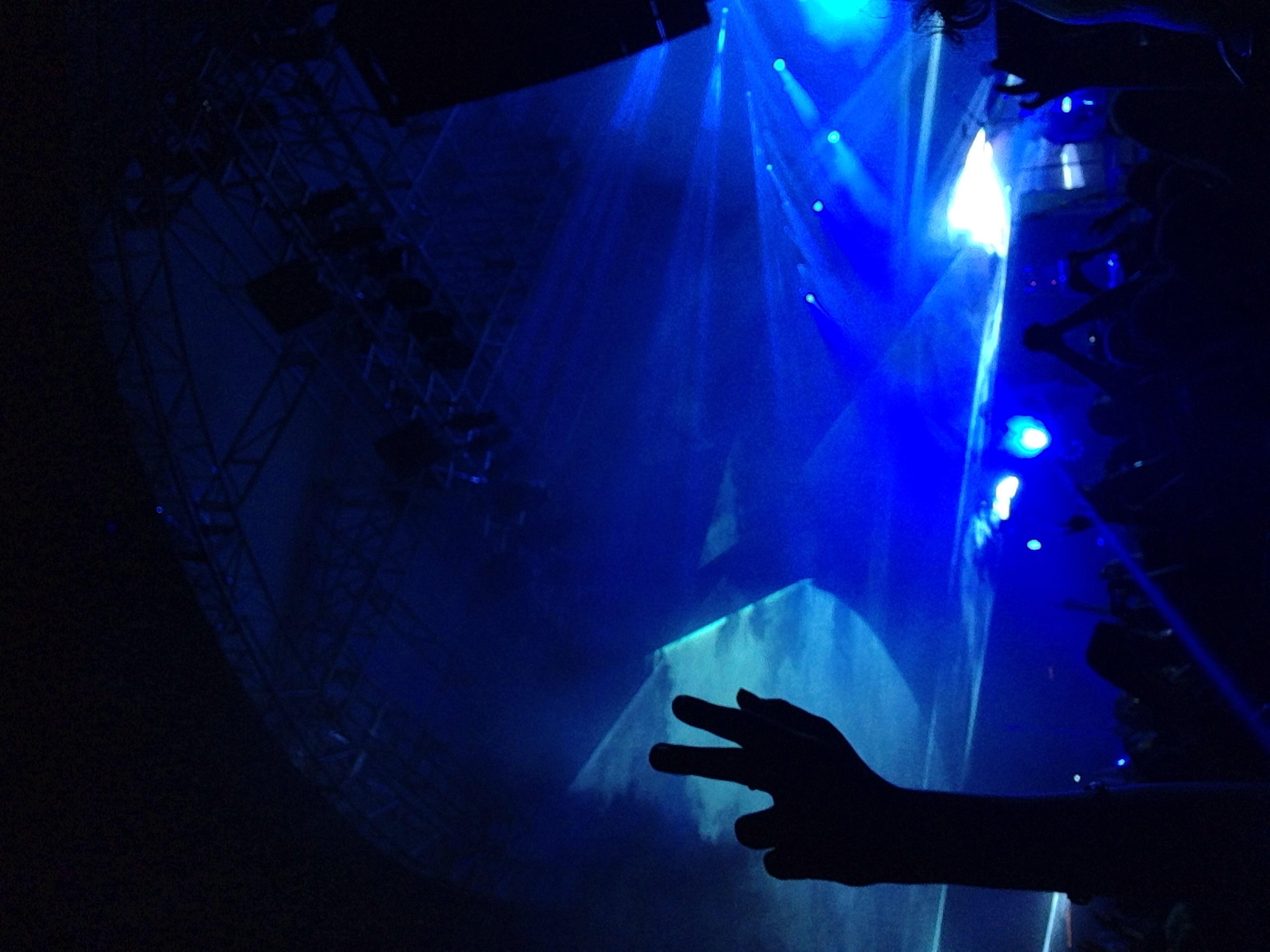 Portugal. The Man light show