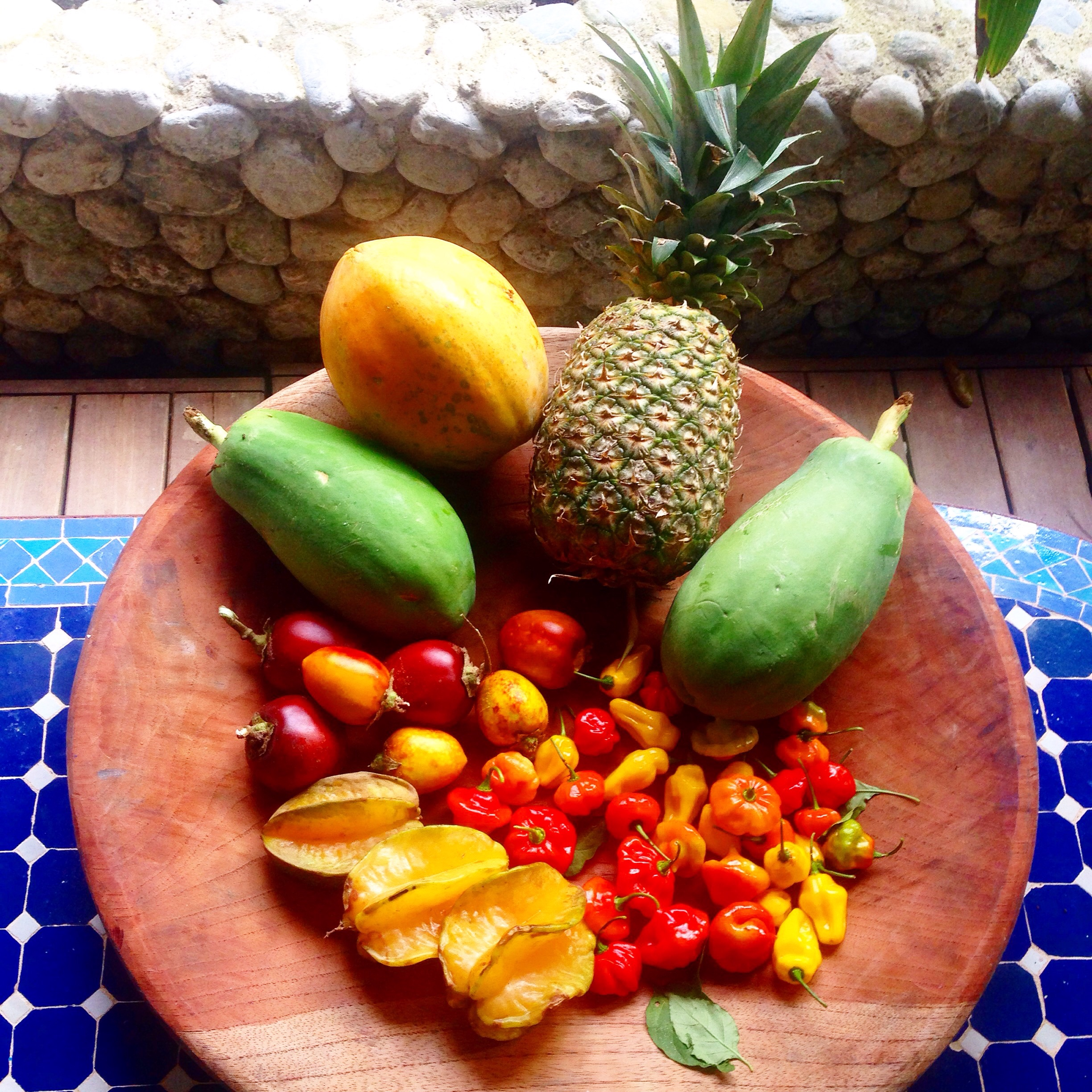 As usual, the fruit here is fresh and I have come to love starfruit everything. Yes, soup, dressing, and dessert.  Here are some cool items for the starfruit curious ...  For some reason, though, I haven't lost any weight with all of this healthy eating. -___-
