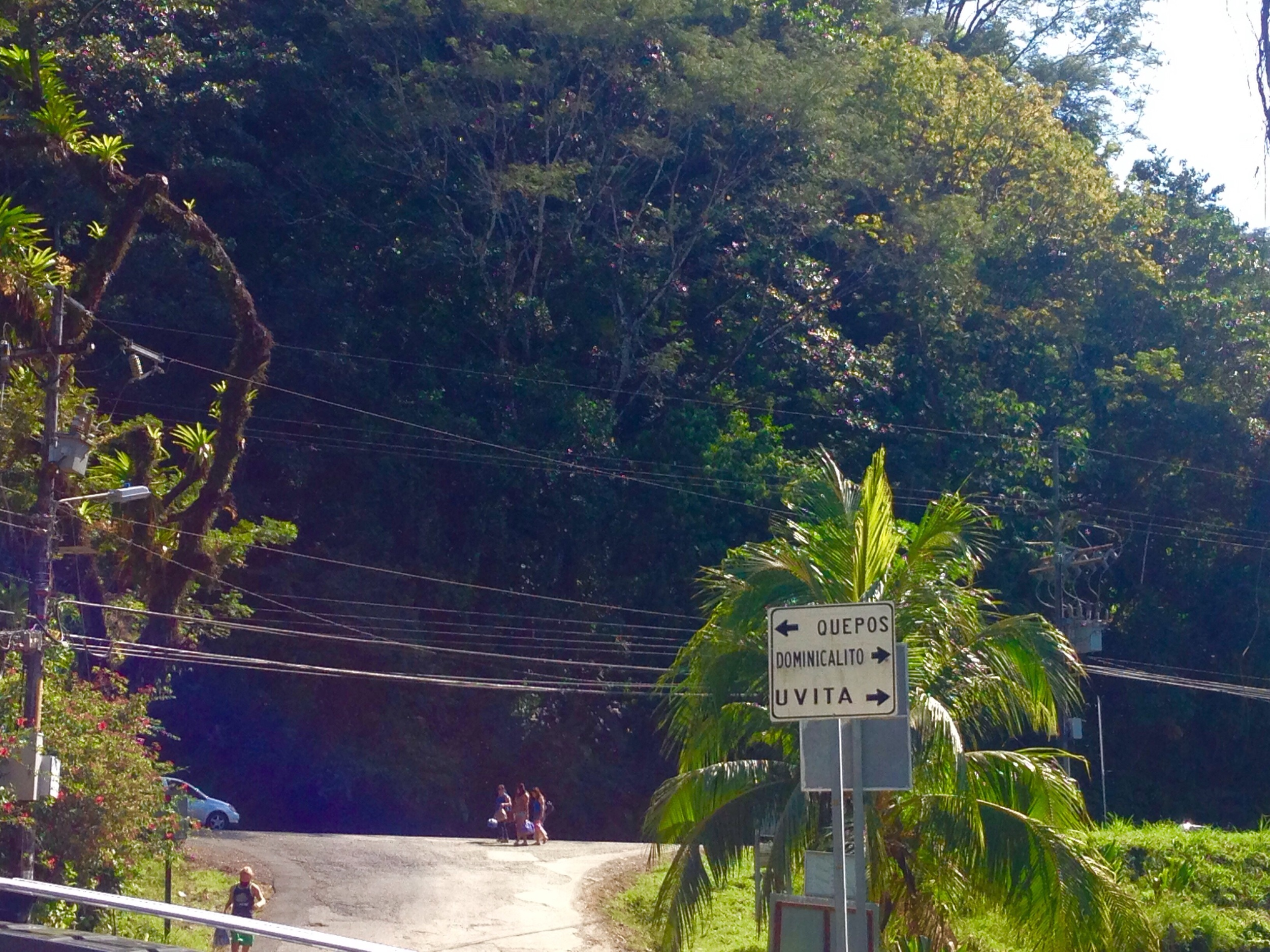 About three - four hours later we arrived in Dominical, Costa Rica, and headed straight for the nearest restaurant.