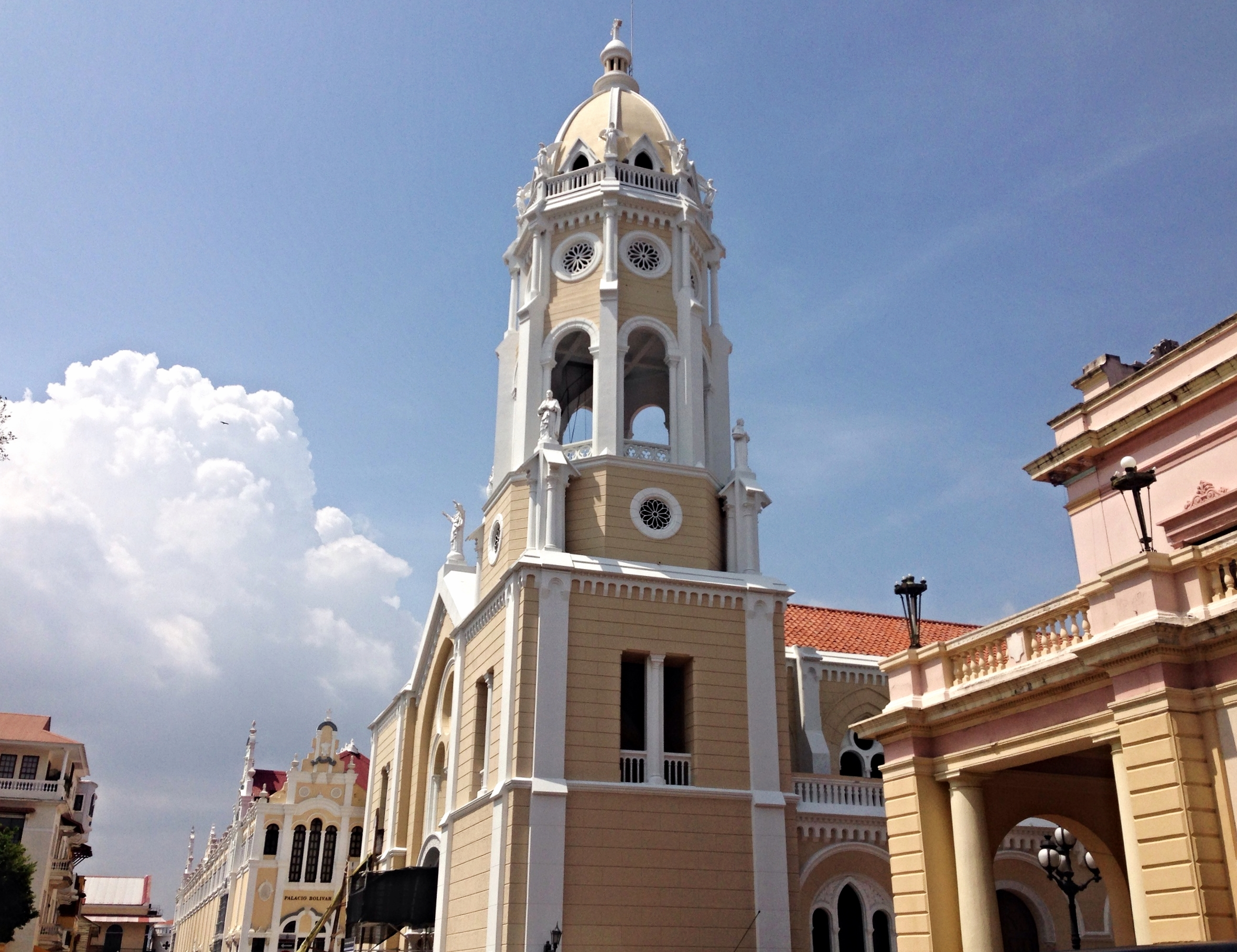 Casco Viejo is a UNESCO world heritage site with Spanish and French colonial architecture.