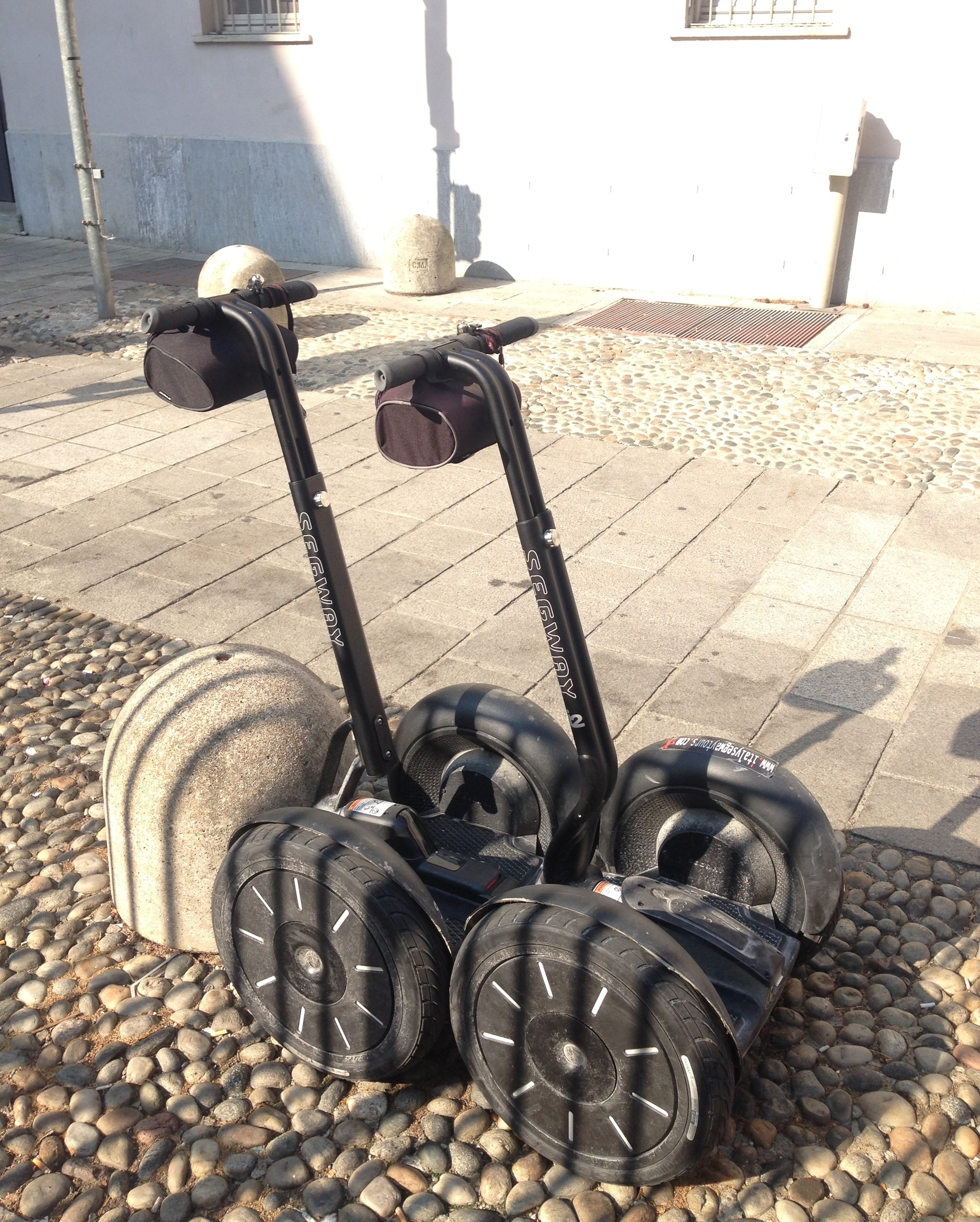 How to ride a segway
