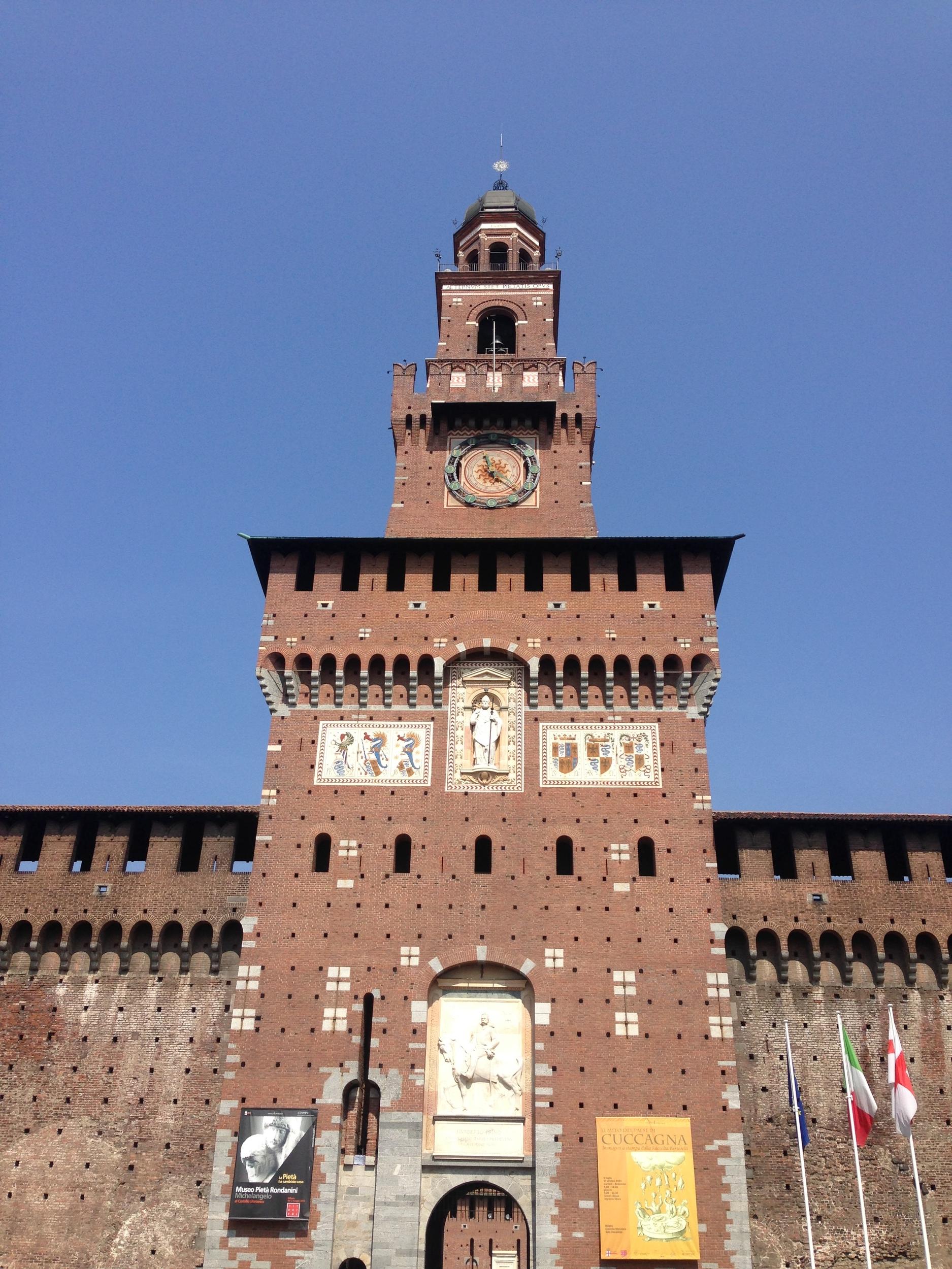 Sforzesco Castle - 15th Century Milan - ochristine