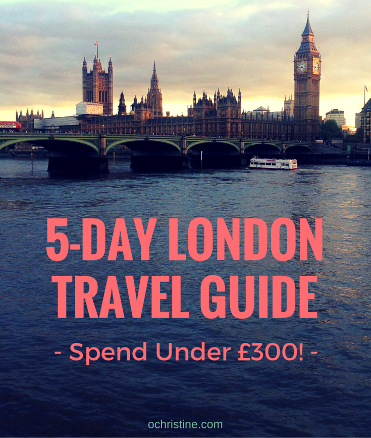 budget-travel-guide-itinerary-london
