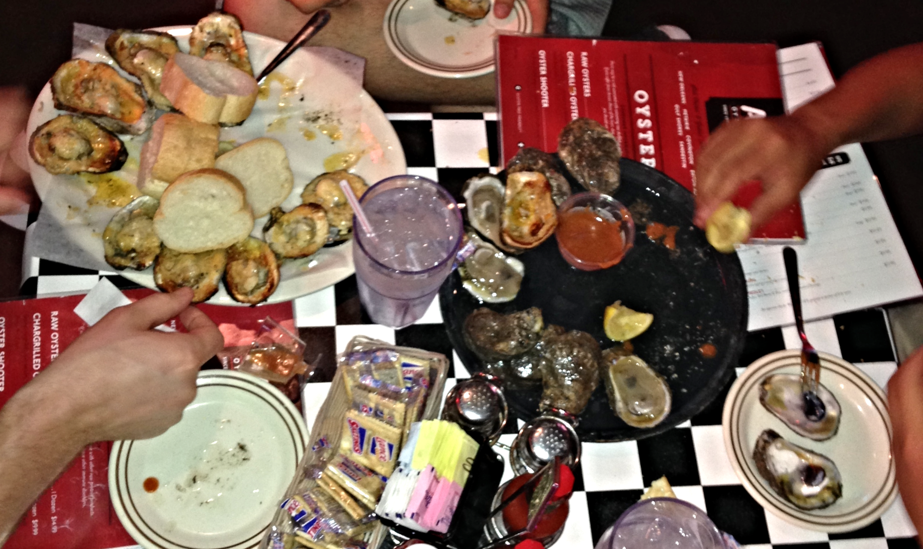 Read my review of  Acme Oyster House .