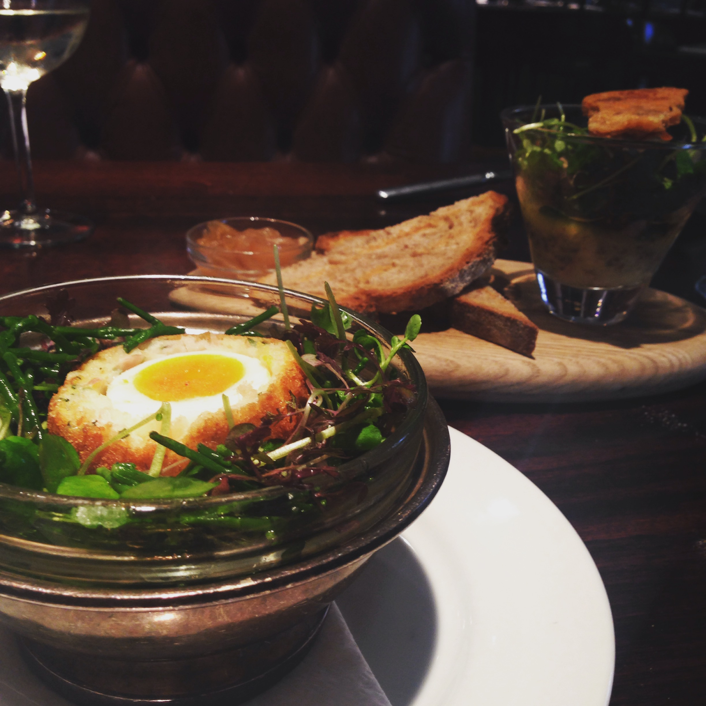 scotch-egg-smoked-haddock-reform-social-grill-review