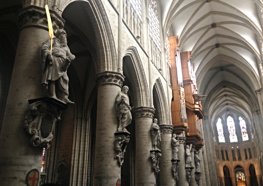 cathedral-brussels-belgium
