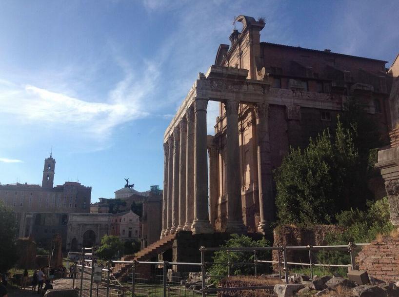 Roman Forum and Palatine - 4 Day Rome Itinerary - ochristine