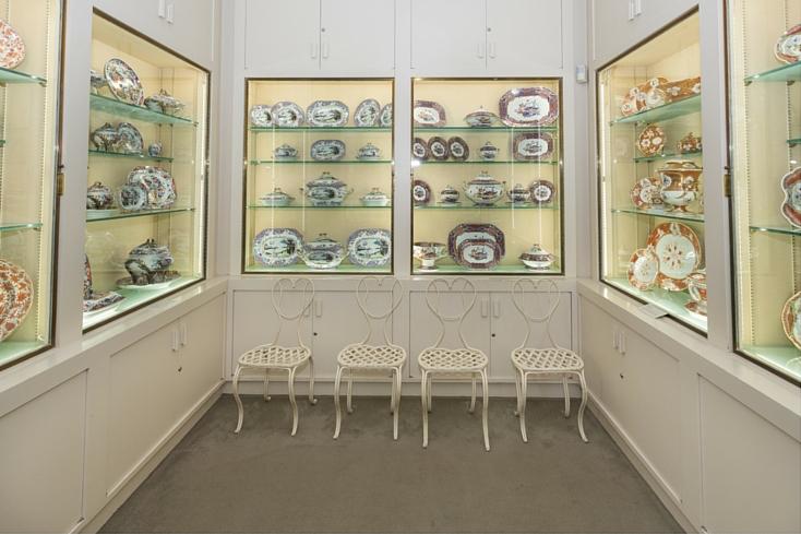 Rockefeller Estate - Kykuit Tours - Kykuit Mansion: China collection  Photos by Jaime Martorano