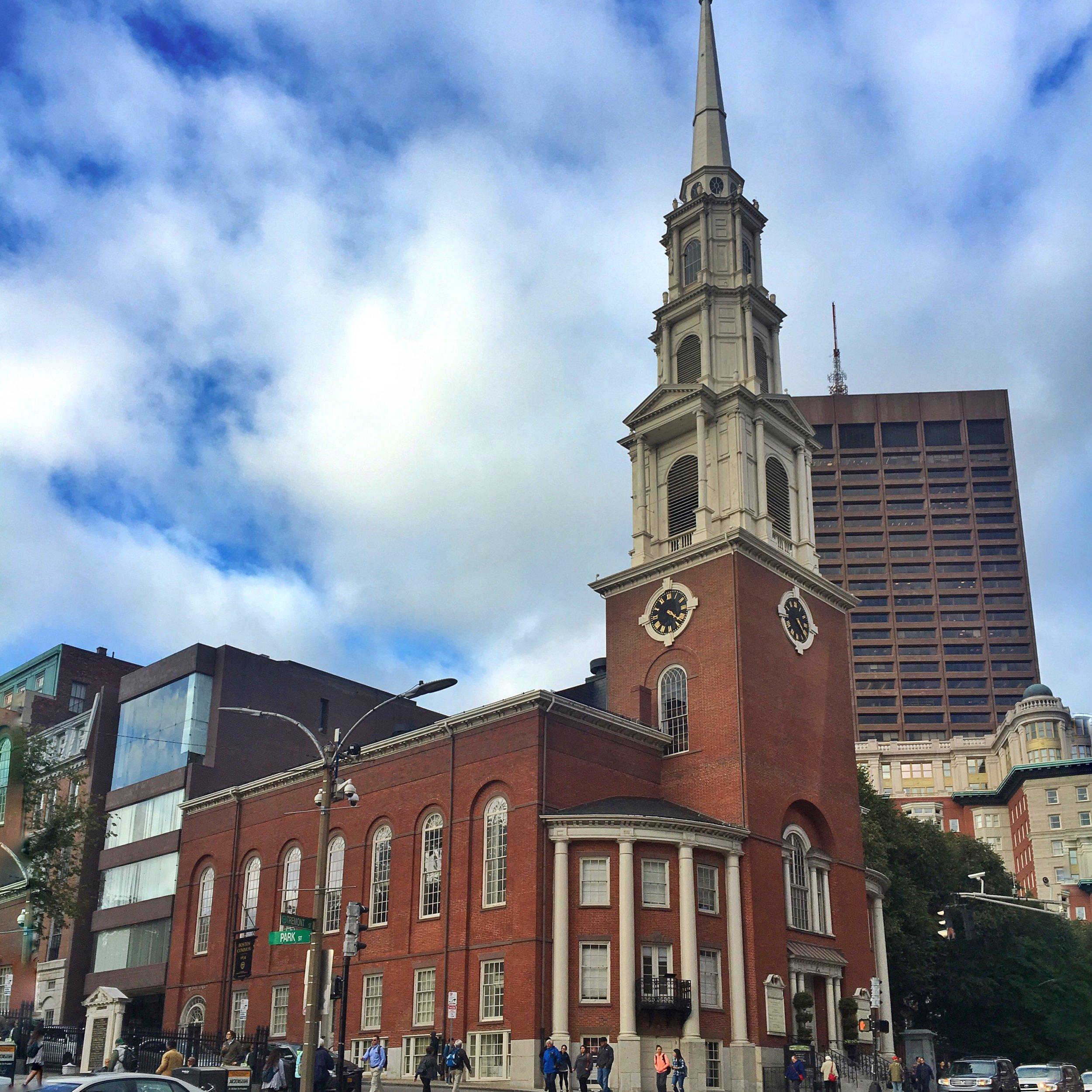 Photo: Park Street Church