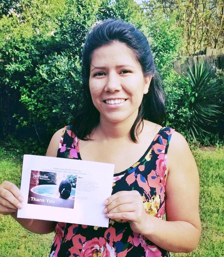 Winner: Ana M.