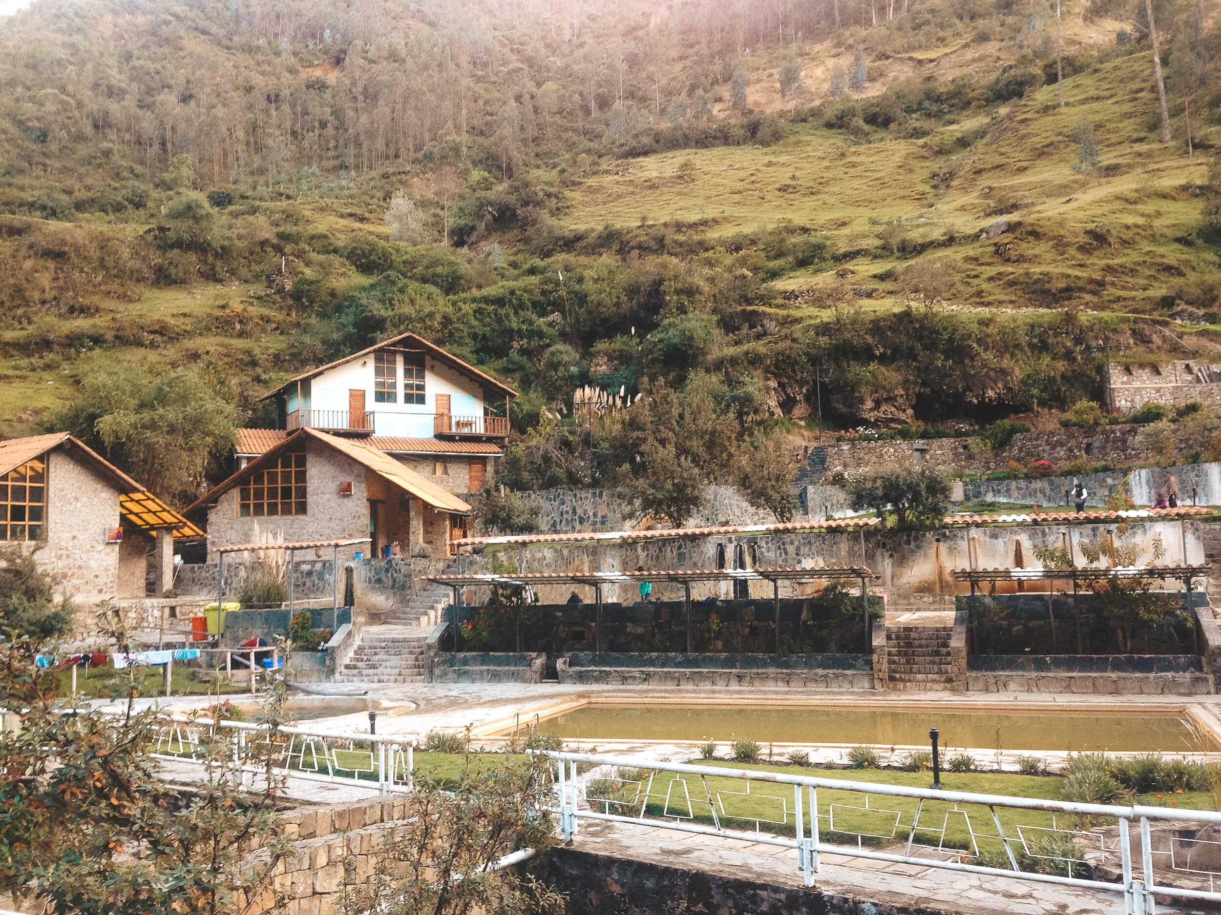 lares trek hot springs peru - ochristine