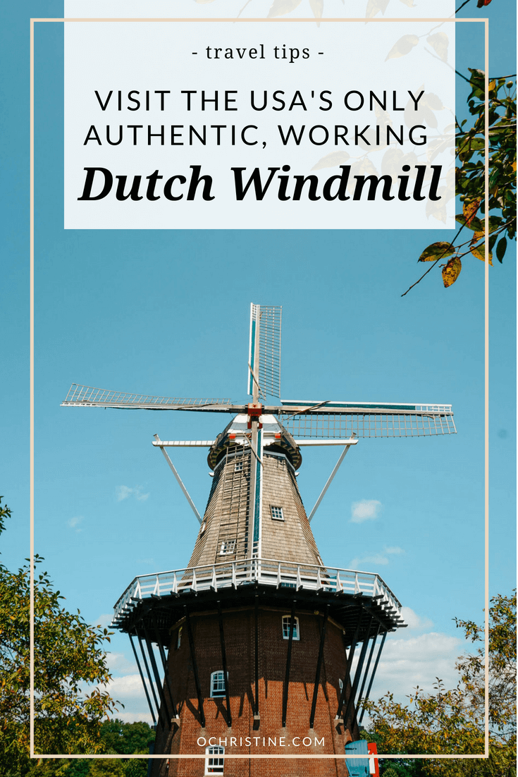 de Zwaan windmill in Holland Michigan - ochristine