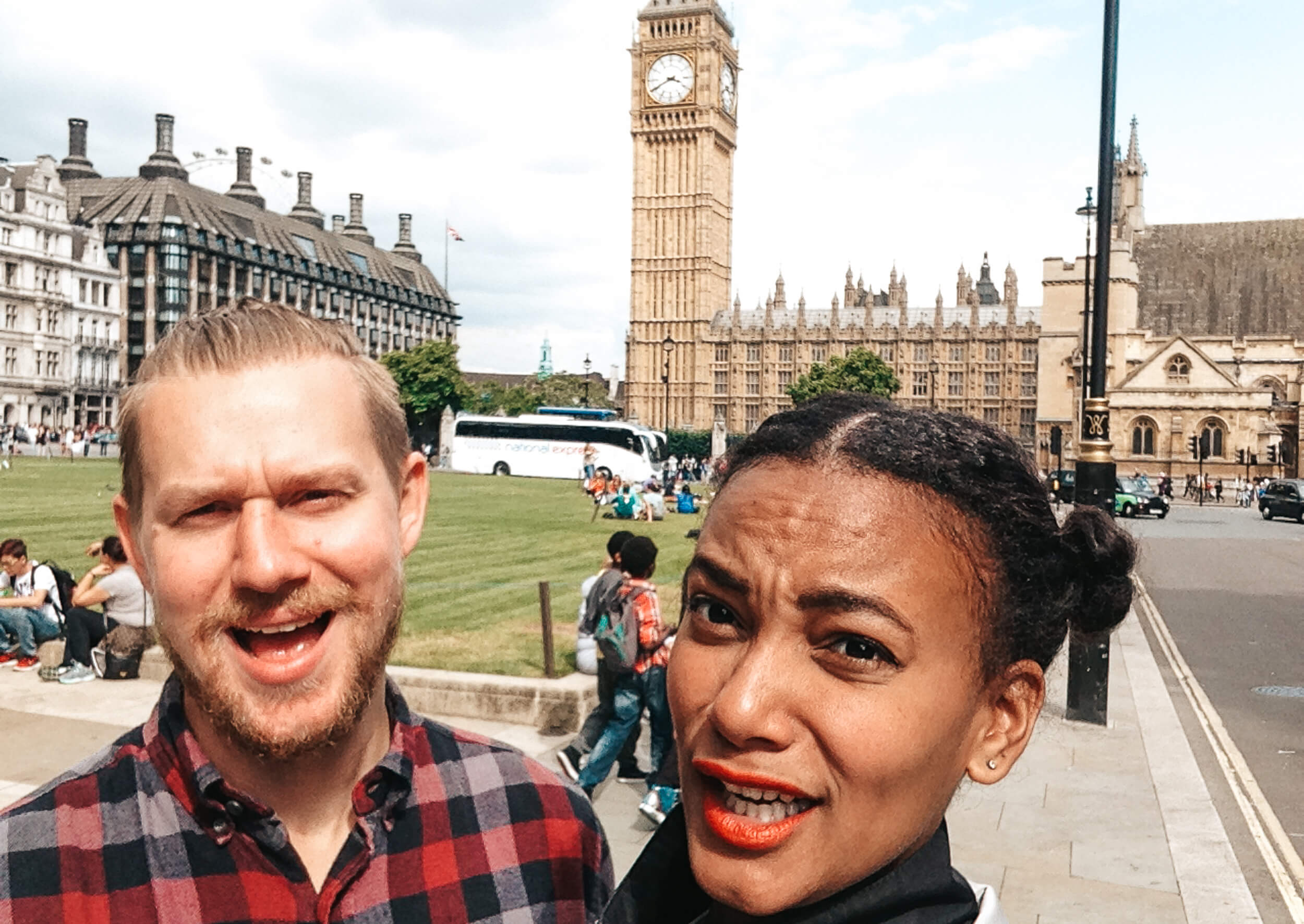 London - Couple Travel - ochristine