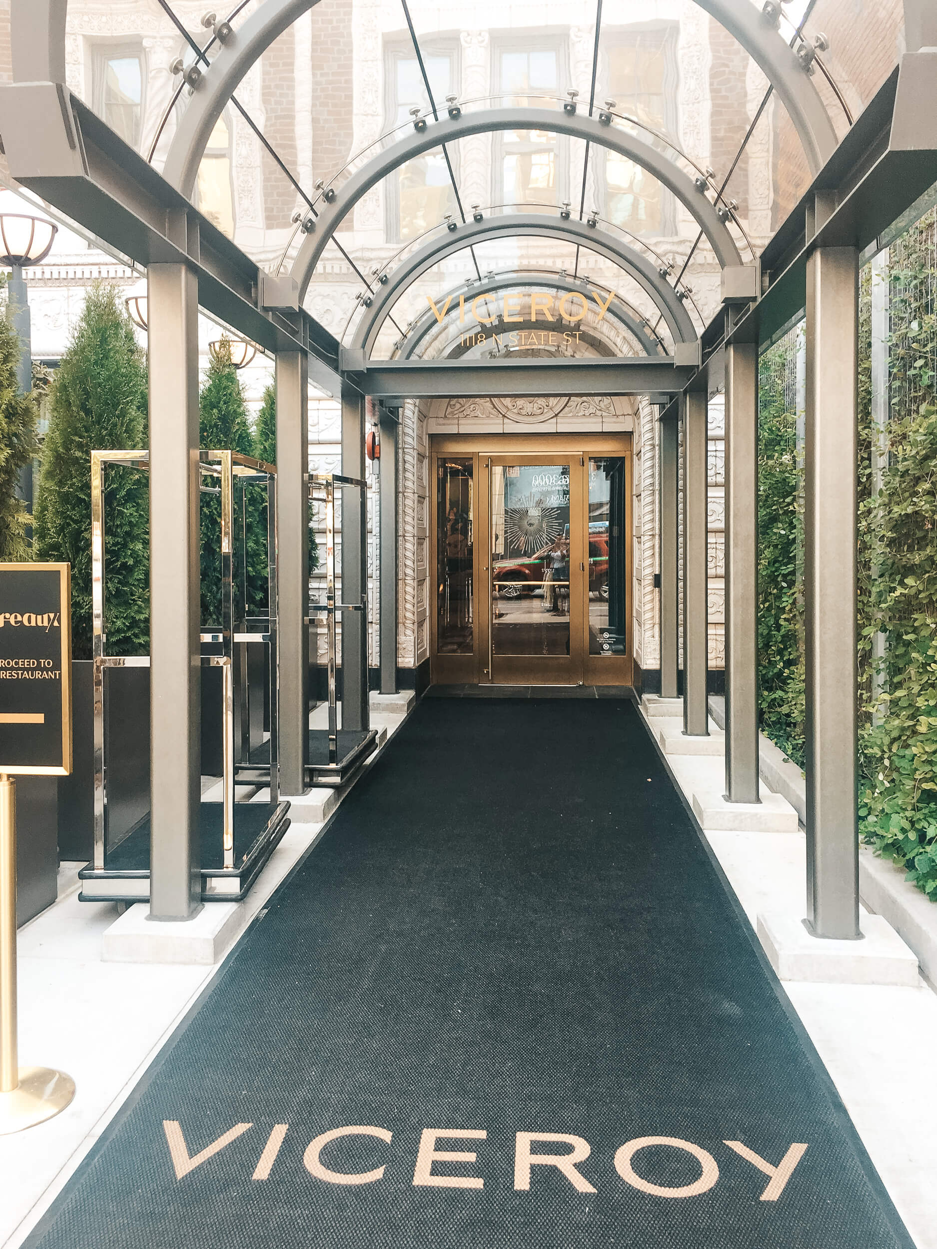 Entrance of Viceroy Chicago