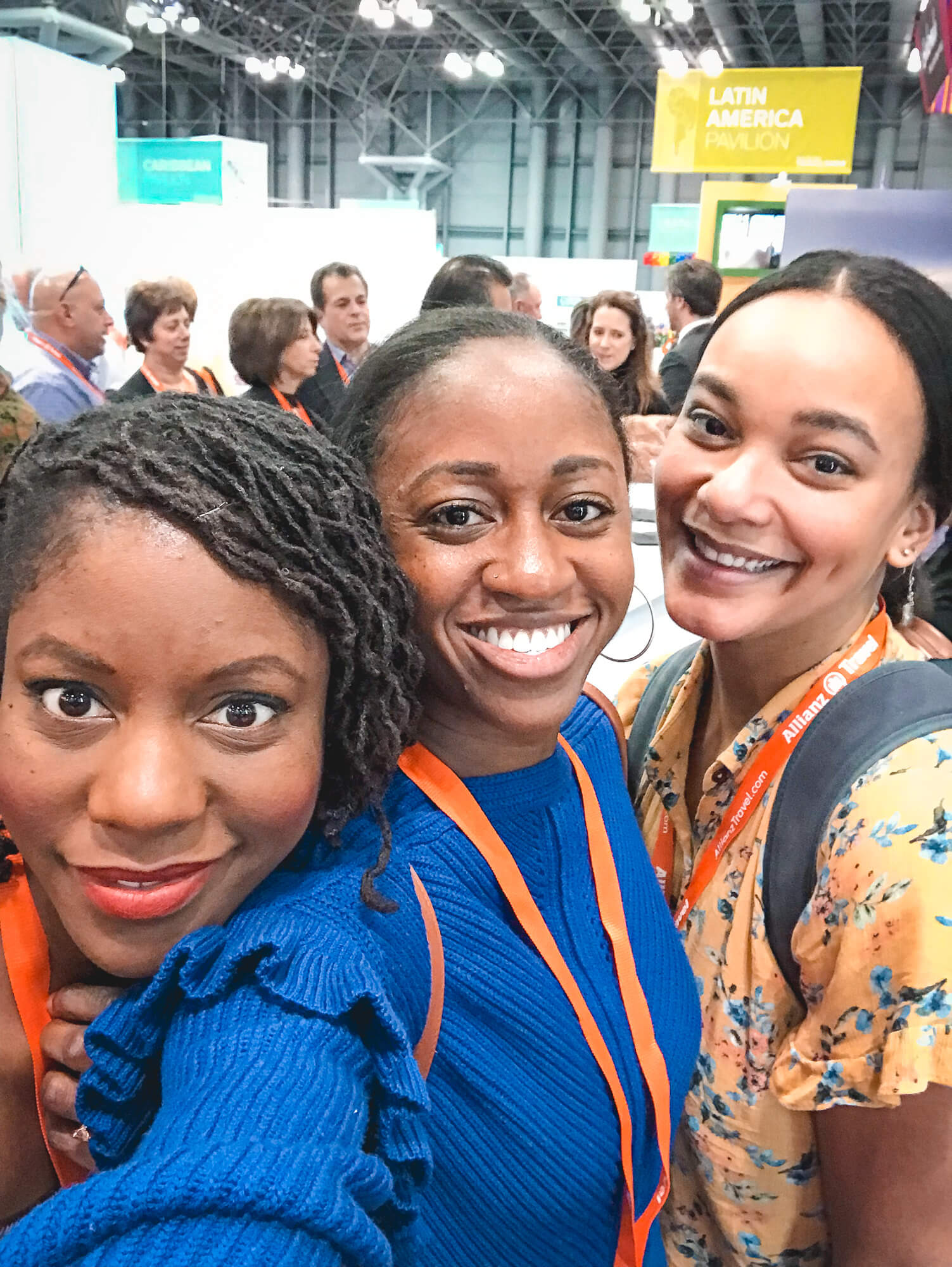 Black bloggers at the NYT Travel Show - ochristine