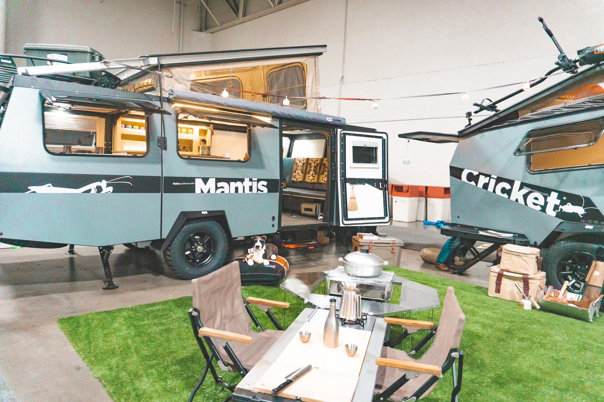 TAXA RV camper trailer at RVX - ochristine