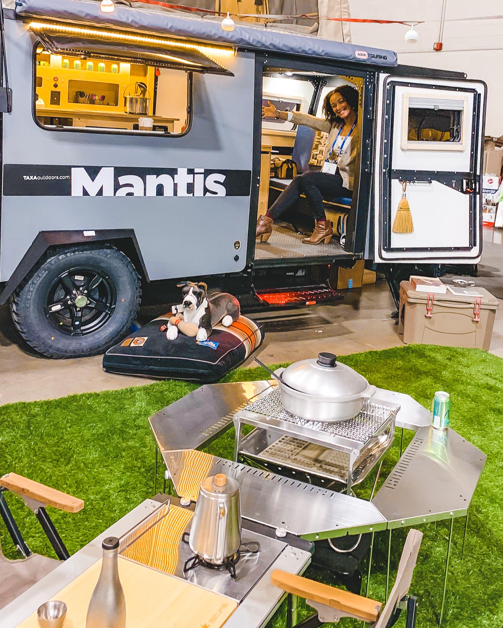TAXA Mantis RV camper trailer at RVX - ochristine
