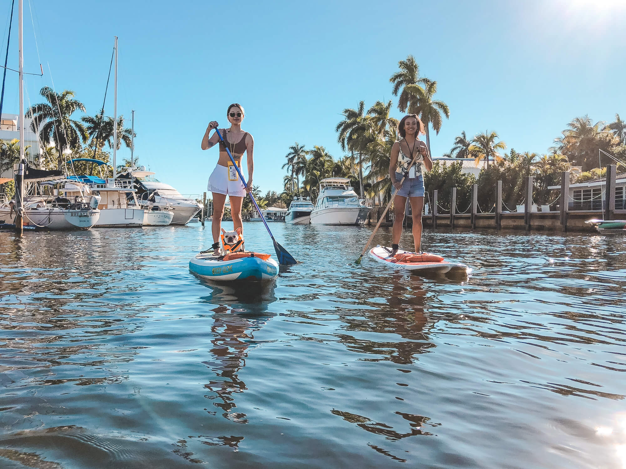 Paddle boarding in Florida - ochristine