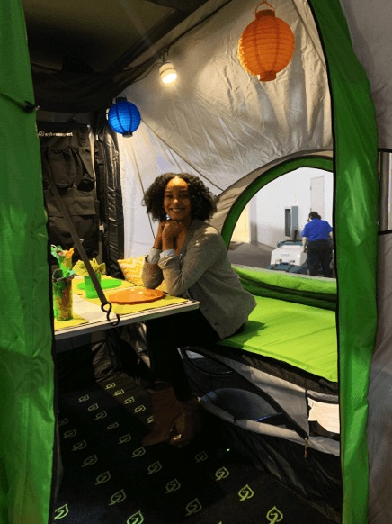 SylvanSport GO - pop up camper tent trailer - ochristine