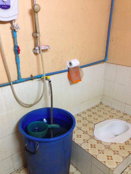 Bathroom in Southeast Asia