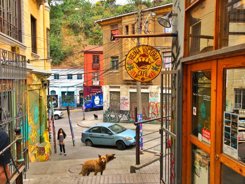 Valparaiso Chile streets - ochristine