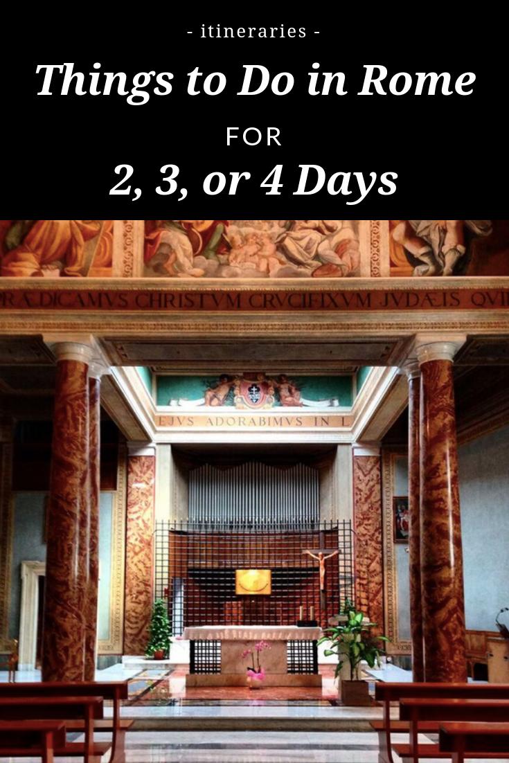 Rome itinerary - 3 days in Rome - ochristine