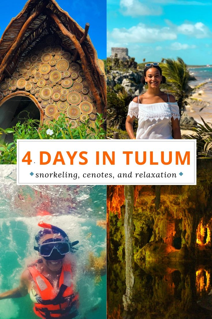 Tulum ruins tour, Tulum cenotes, Snorkeling, and other Tulum vacation recommendations.