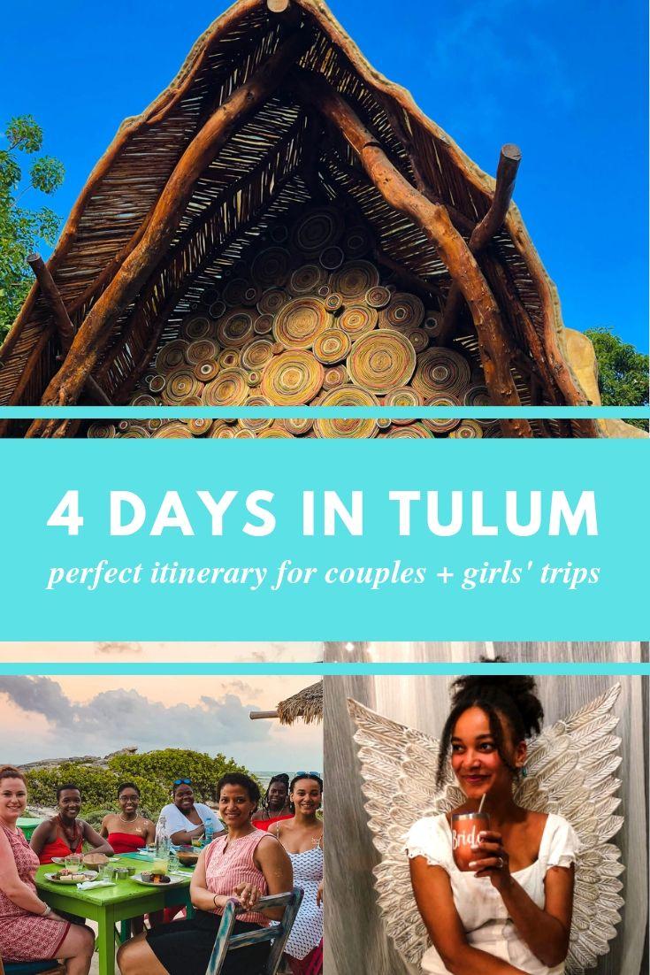 Girls trip Tulum travel guide | Bachelorette Party Tulum Itinerary