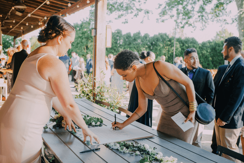 Quaker marriage certificate DIY