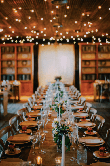 Terrain at styers wedding reception decor Photo credit: Alex Medvick Photography