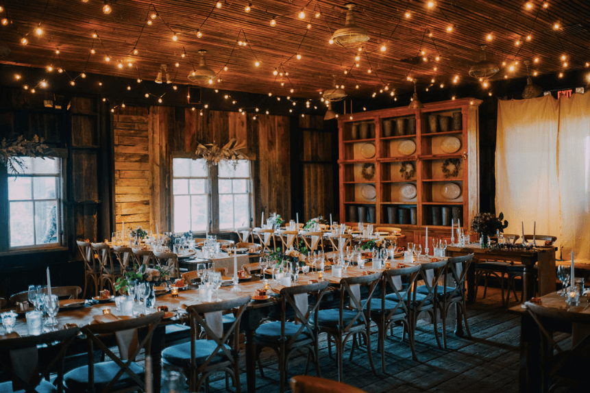 Terrain at Styers wedding: garden shed Photo credit: Alex Medvick Photography