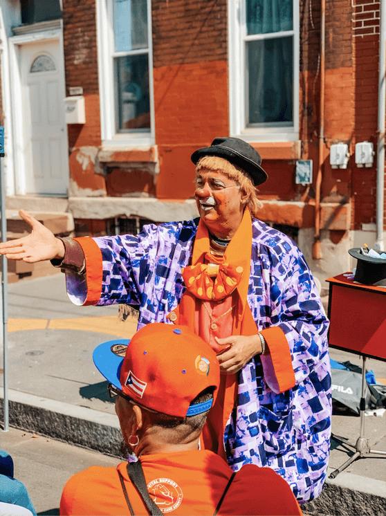 Kid-friendly activities at Feria del barrio in Philadelphia