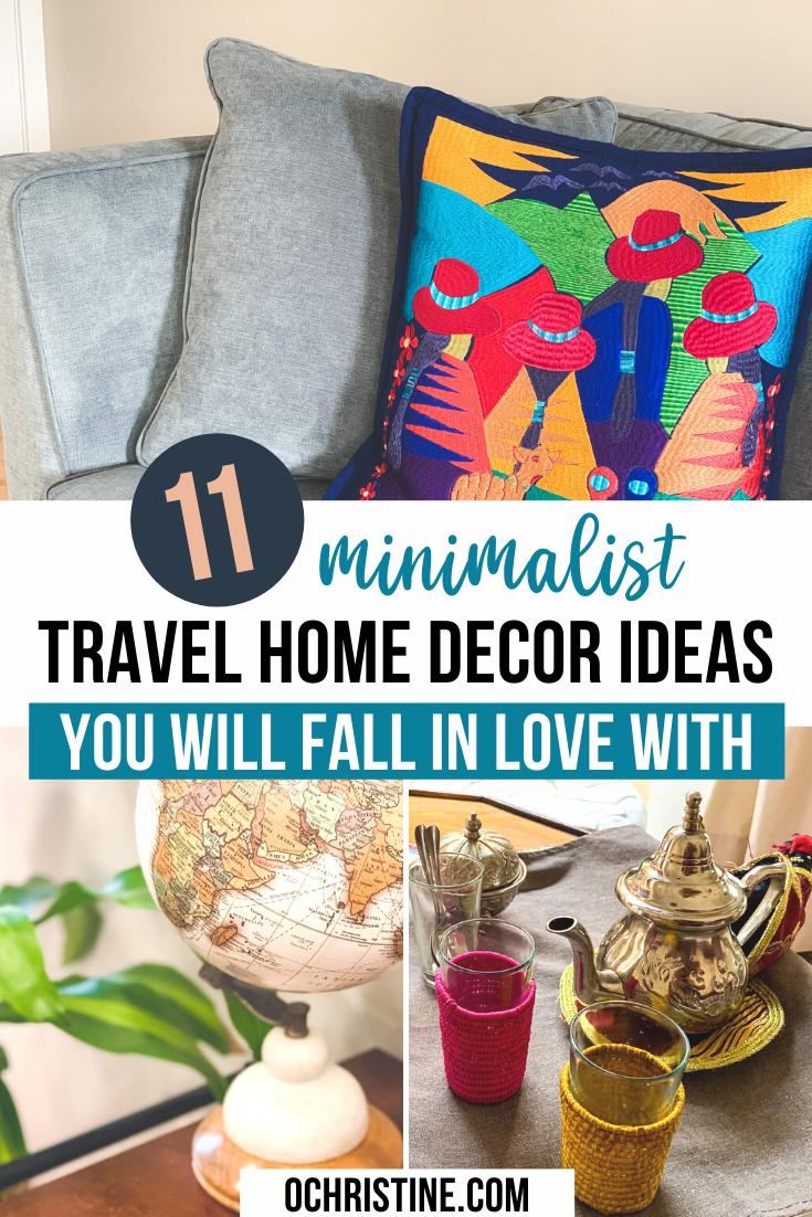 11 Minimalist Travel Themed Home Decor Ideas You Ll Love