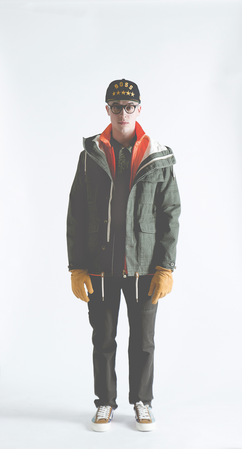 Deus - Gordon Jacket    Wesc - Reson Gloves   Baldwin - Cash Work pants