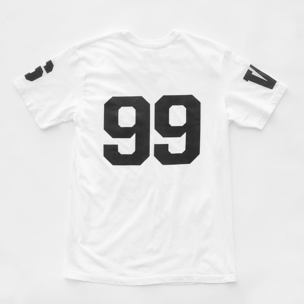 RAISED BY WOLVES X OTH - T-Shirt White/Black