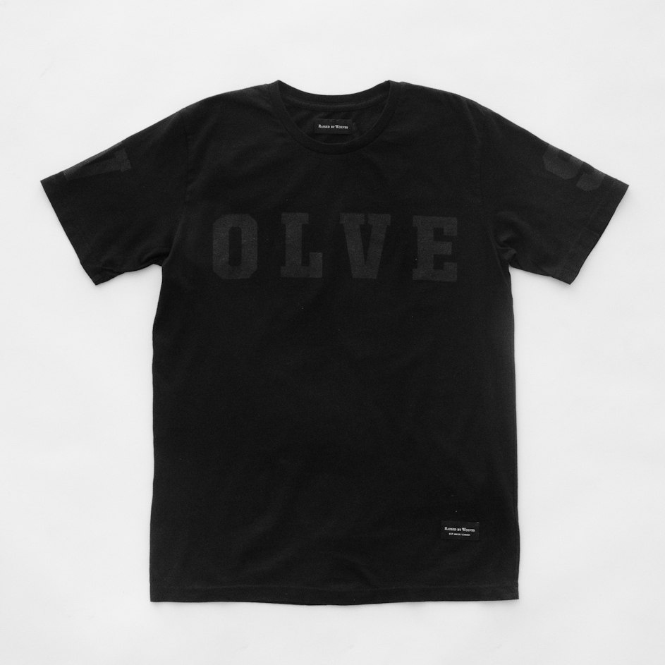 RAISED BY WOLVES X OTH - T-Shirt Black/Black