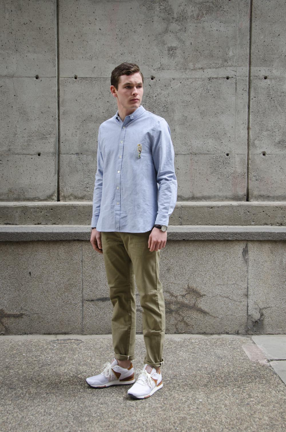 BWGH Ara Shirt    Penfield Millwood Twill Chino    Garbstore x Reebok Classic Leather 6000