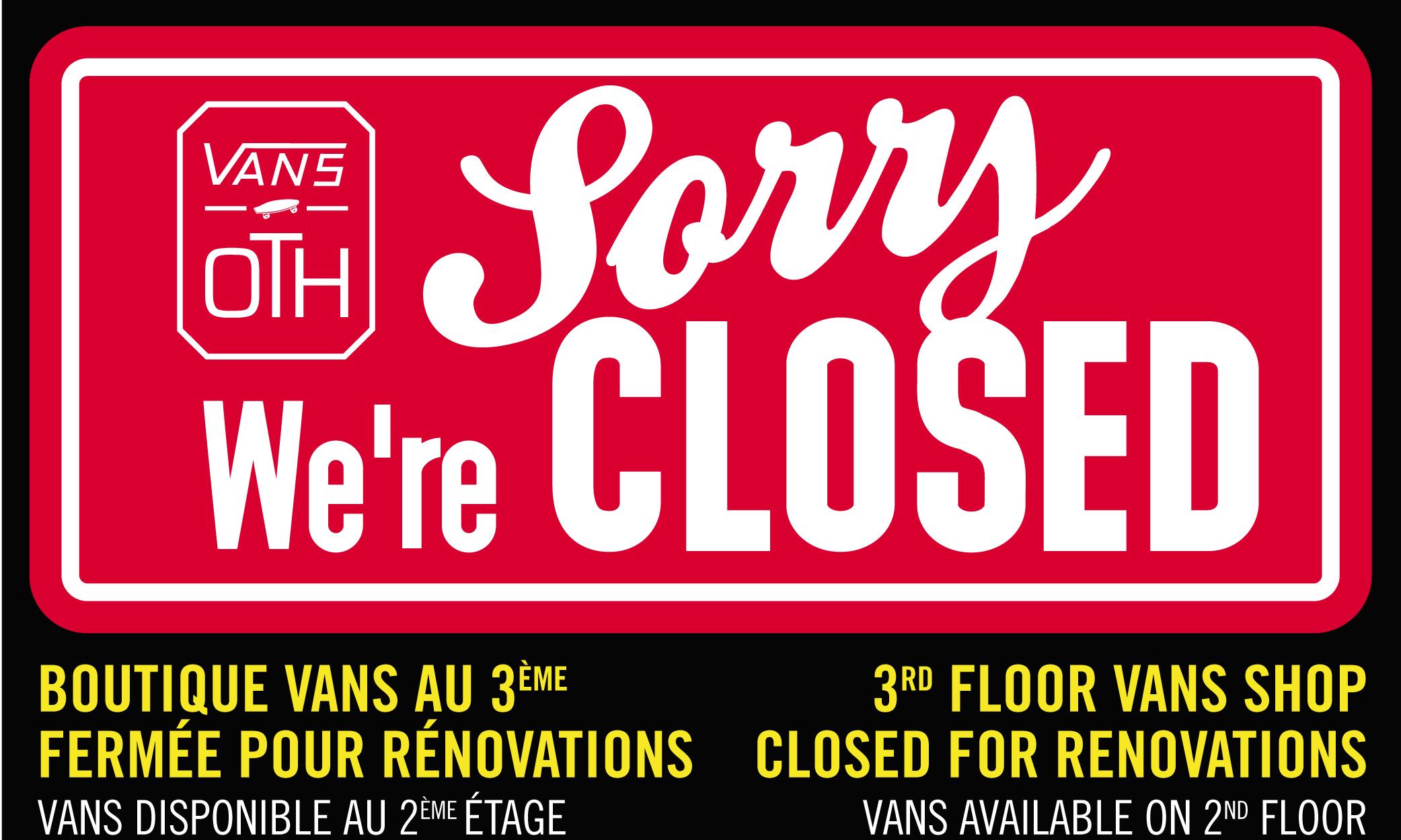 Vans OTH Renovations