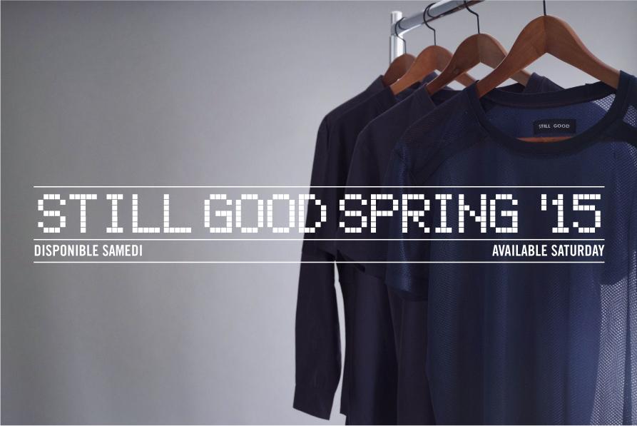 STILL GOOD Spring 15 OTH