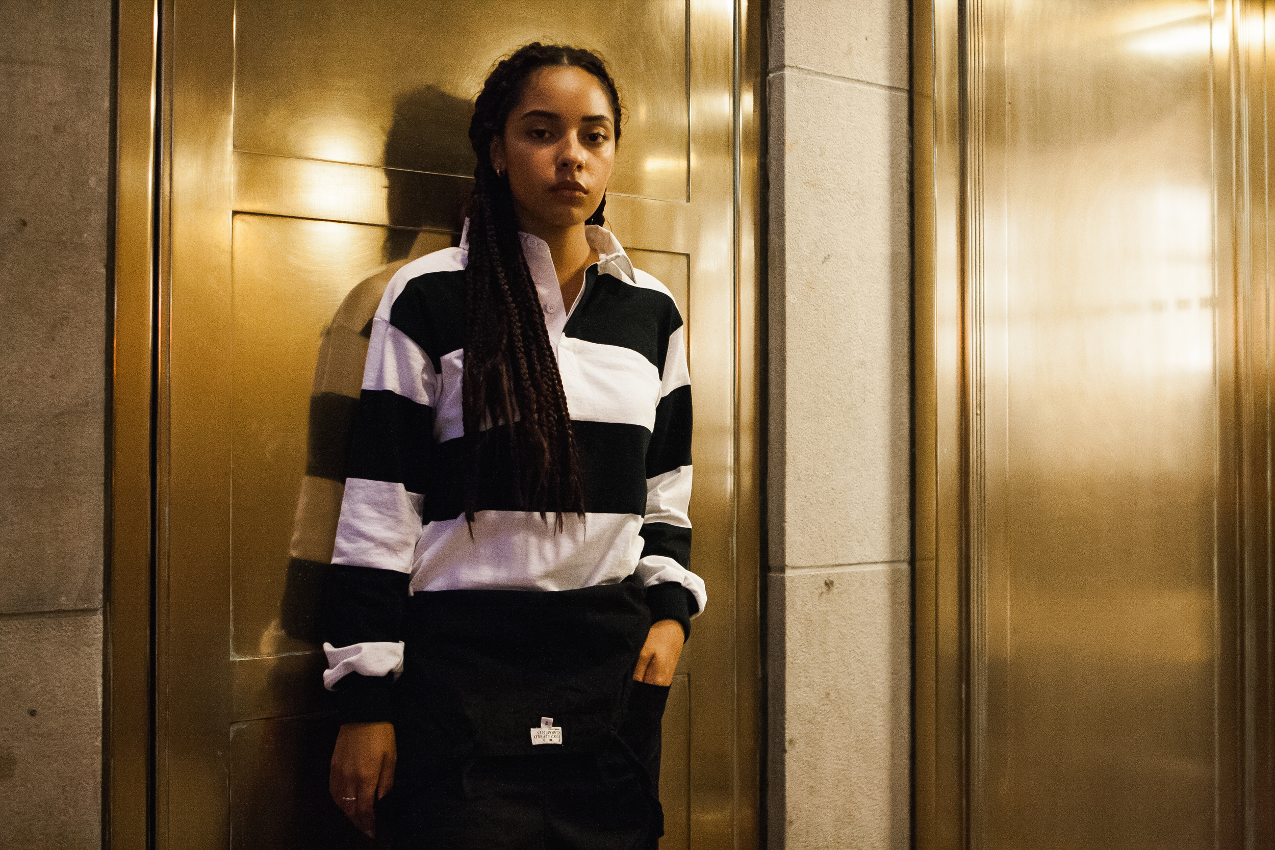 Barbarian Rugby Jersey FWK by Engineered Garments Overalls