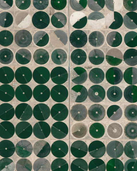 Daily Overview shows us the world from above to highlight human impact and change the way we look at things.