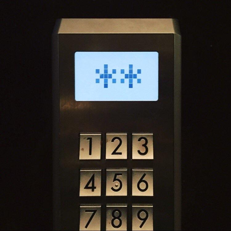 Asterisks (+ Elevator Keypad)