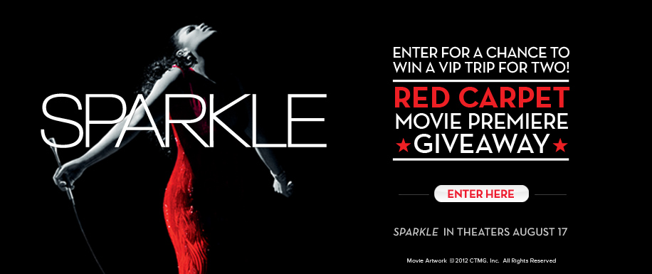 Sparkle Red Carpet Giveaway Banner