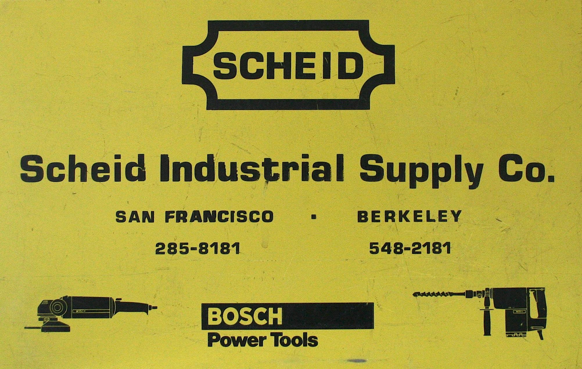Original Tool Box from Scheid Industrial