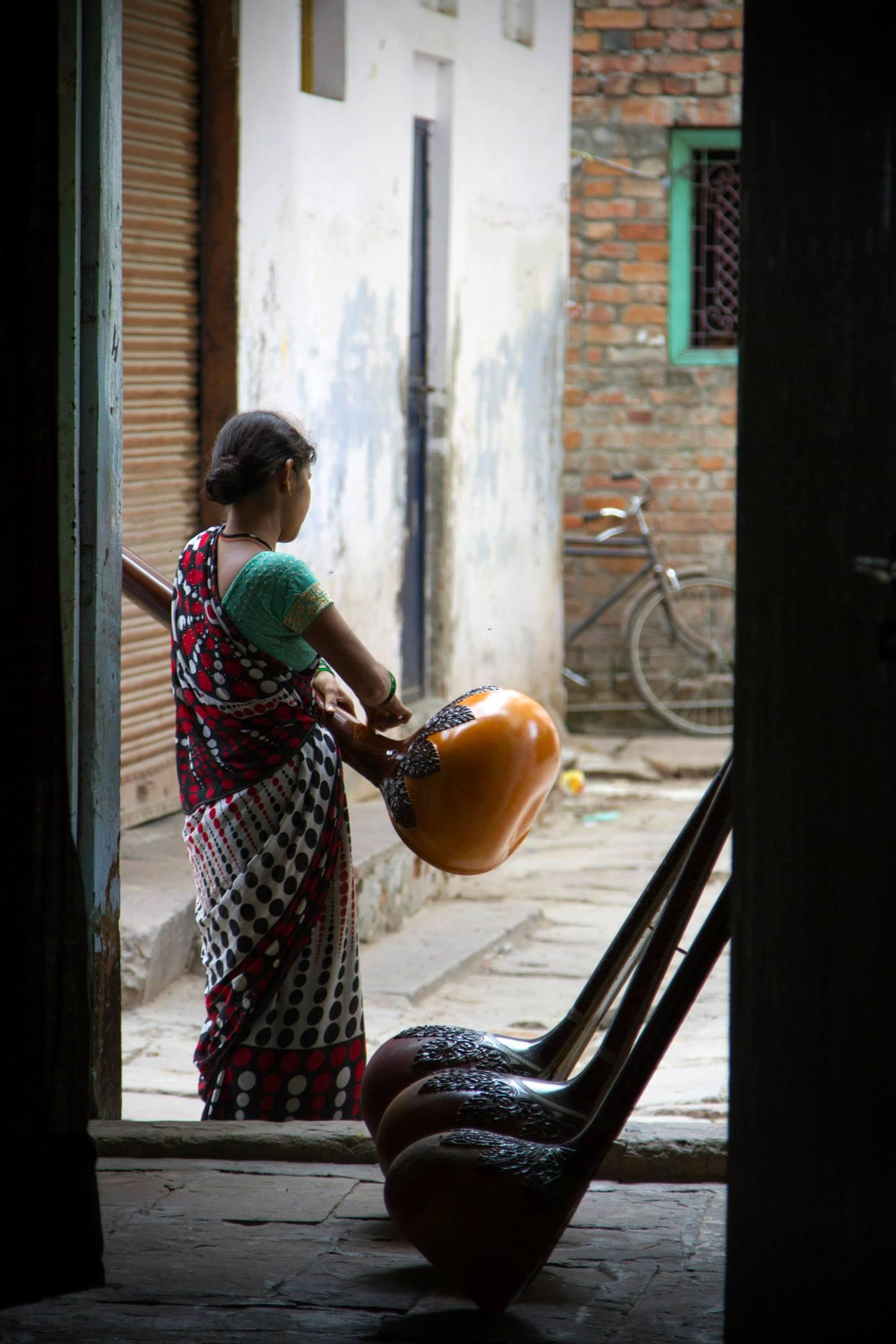 Sitar Shoppe, Varanasi, India