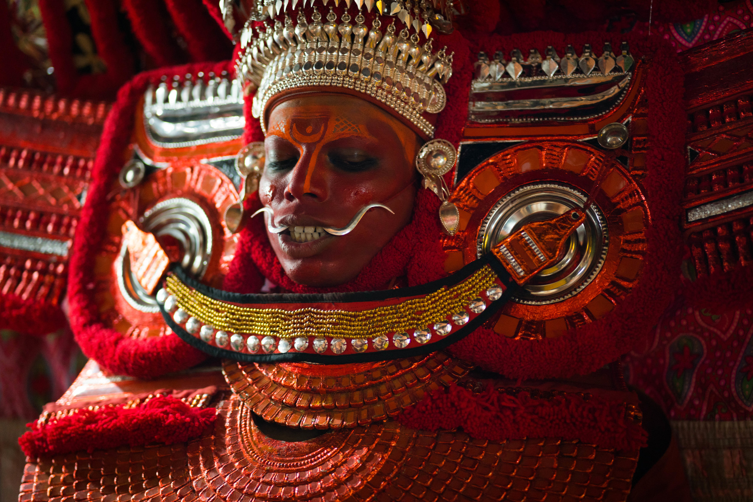 Theyyam Dancer, Kannur, India